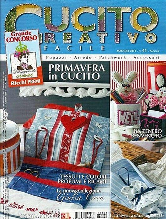 CUCITO CREATIVO No.:41/2011