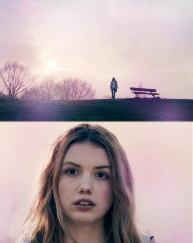 skins pure; Cassie. I love how she goes back to that bench ♥