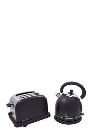 "This kettle and toaster combo pack is ideal as a gift.Kettle:<div class=""pdpDescContent""><ul><li> 1.8 Liter capacity</li><li> Cordless with concealed element</li><li> Boil-dry protection</li><li> Stainless steel1850 - 2200 wattsToaster:</li><li> 2 slice wide slot toaster</li><li> Variable electronic browning control</li><li> Slide-out crumb tray for easy cleaning</li><li> Extra lift facility, anti-jam function</li><li> Stainless steel</li><li> 850 - 1000 watts</li></ul></div><div…"
