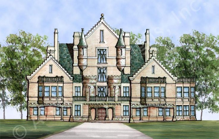 Best 25 Castle House Plans Ideas On Pinterest Modern