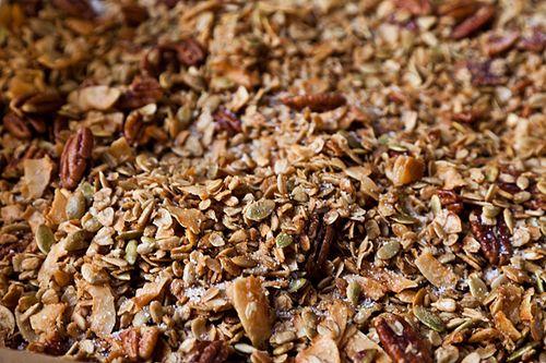 Nekisia Davis' Olive Oil And Maple Granola Recipe — Dishmaps