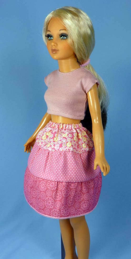 Peasant Skirt Pattern To Fit Vintage Tiffany Taylor Bfc