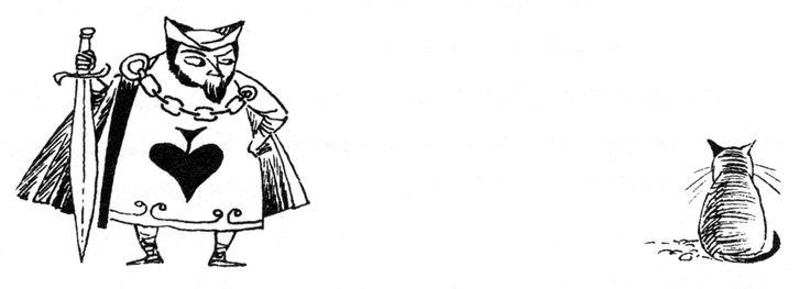 "Tove Jansson - Illustrations for ""Alice in Wonderland"" 33"