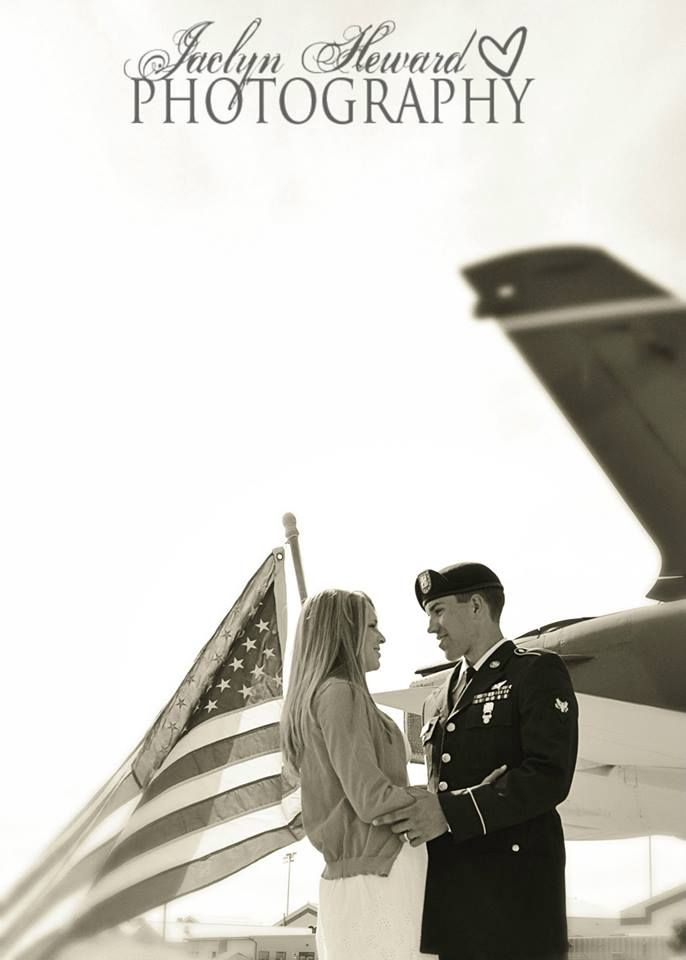 Military couple picture ideas.   Jaclyn Heward Photography