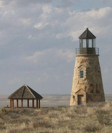The Dunes Lighthouse, Lake McConaughy, Nebraska https://maps.google.com/?ll=41.233405,-101.837114=0.002404,0.004506=h=18