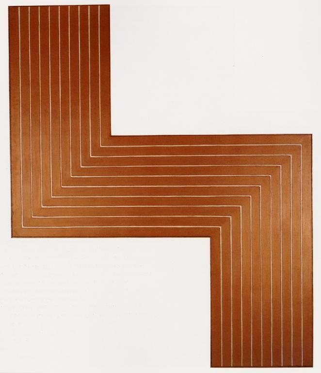 Ophir - Frank Stella, 1960-61. Art Experience NYC www.artexperiencenyc.com