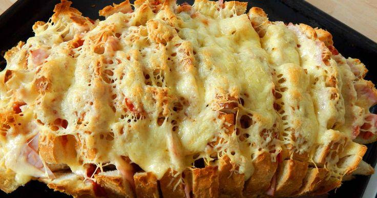 Mennyei Töltött kenyér recept!