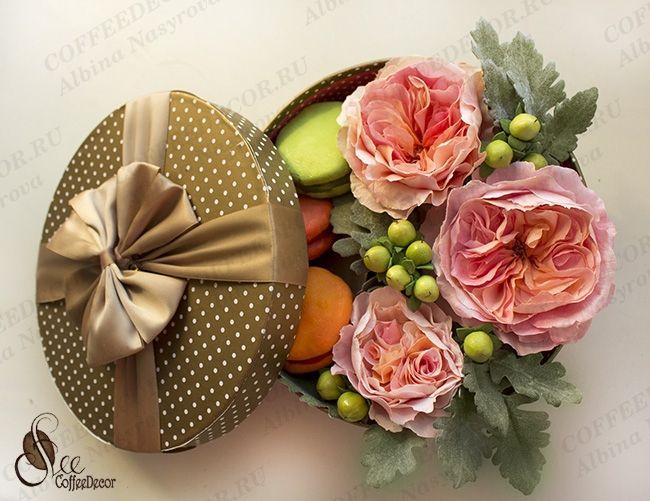 Розы Дэвида остина (пионовидные) зефирный фоамиран
