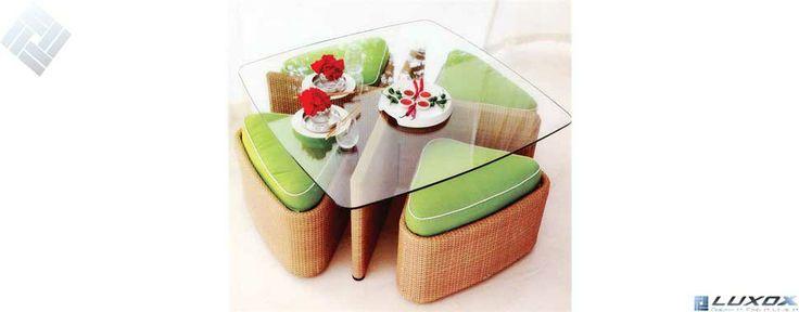 garden set, garden chair, coffee set by LUXOX