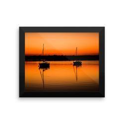 Framed poster: Resting Sunset