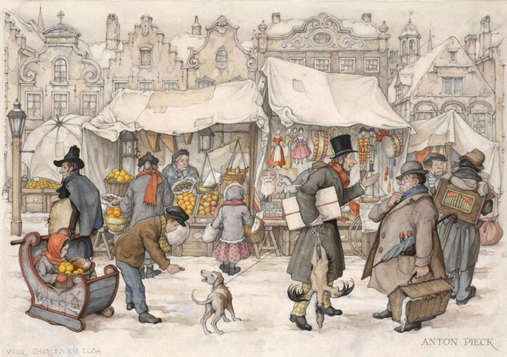 Anton Pieck christmas market