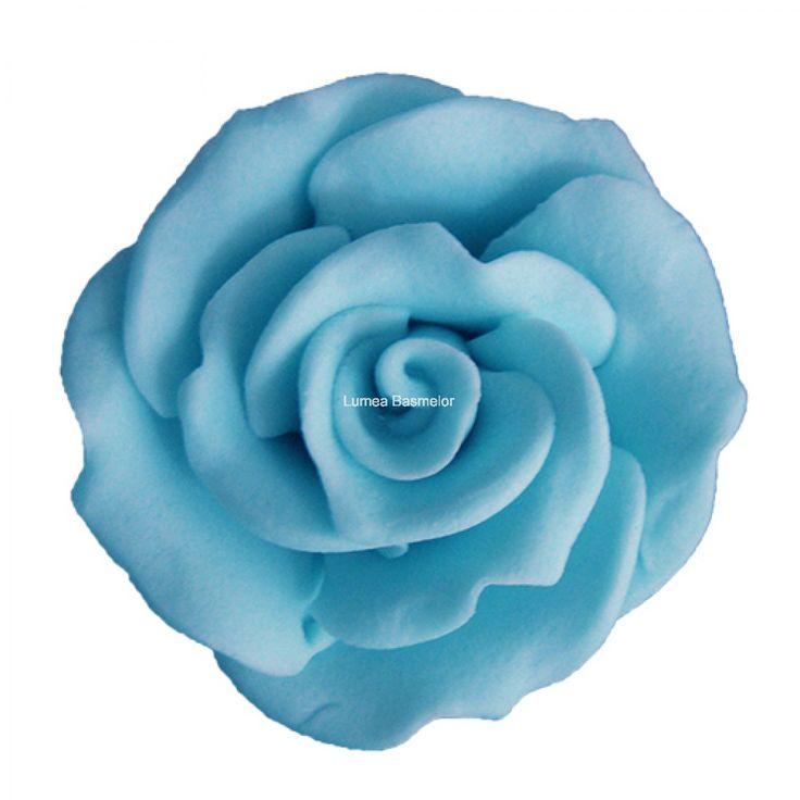 Trandafiri mici 42 buc bleu