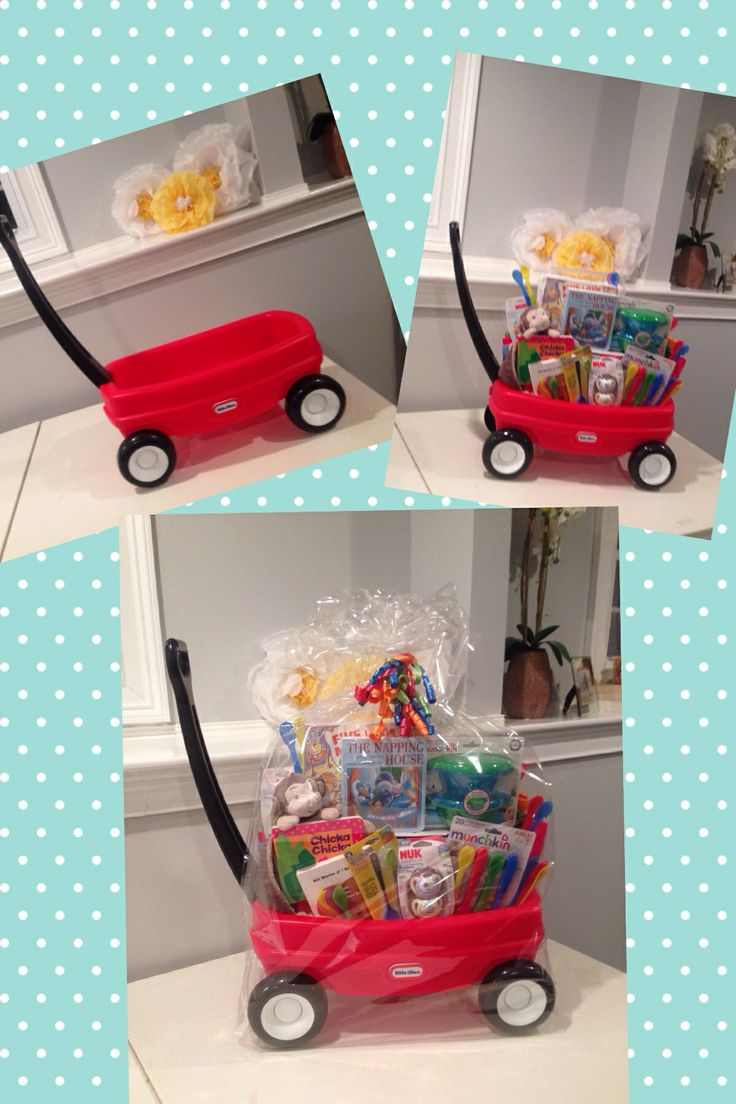 """My latest... A """"Welcome Wagon"""" for a friend's baby!"""