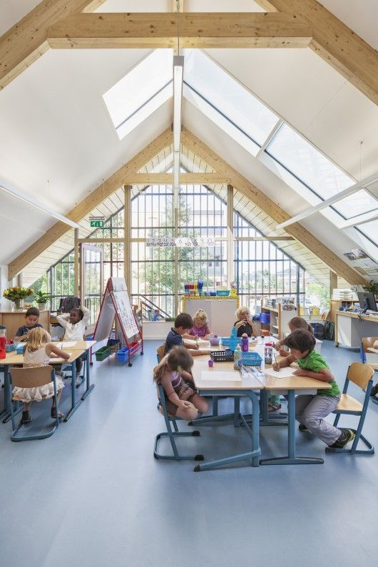 Expansion of the American School of the Hague / Kraaijvanger