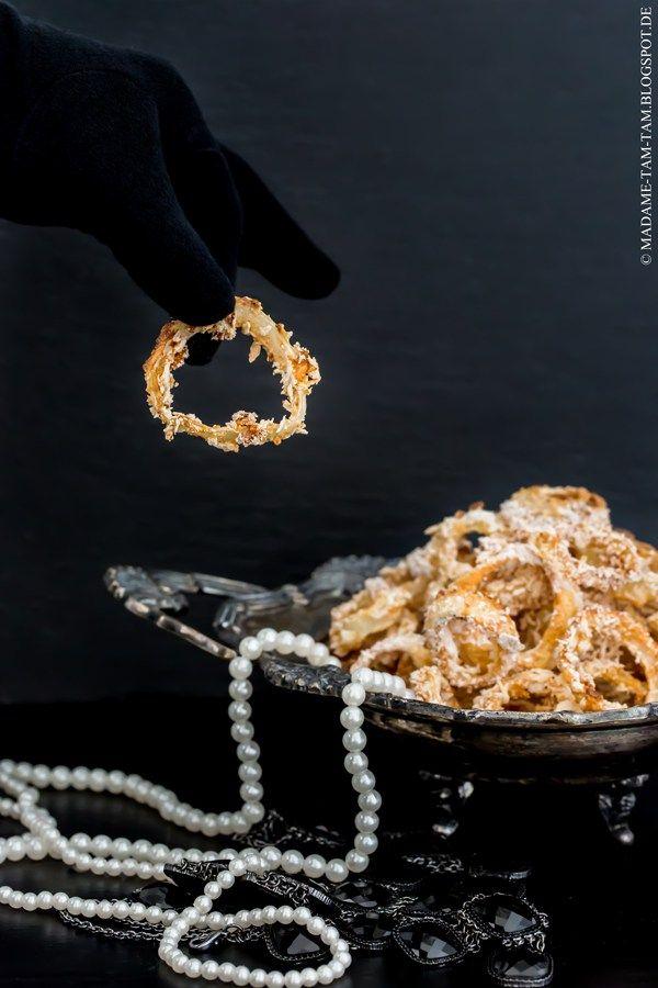 Knusprige Mafia-Zwiebelringe von Lisbeths Krimiknabbereien! - marieola - food and lifestyle blog