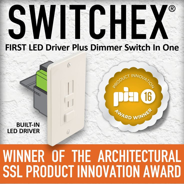 LED Driver - LED Dimmer Switch SWITCHEX Driver + Dimmer | Diode LED