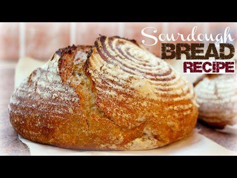 My Secret Sourdough Bread Recipe (Low FODMAP) - Baking Artisan Sourdough Bread - VitaLivesFree
