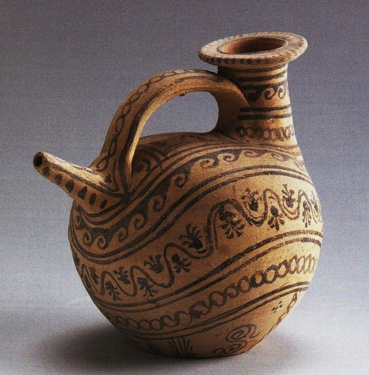 Askos, III a.C. Civiche Raccolte Archeologiche, Milano. Provenienza Canosa di Puglia. Cultura greca e magno-greca