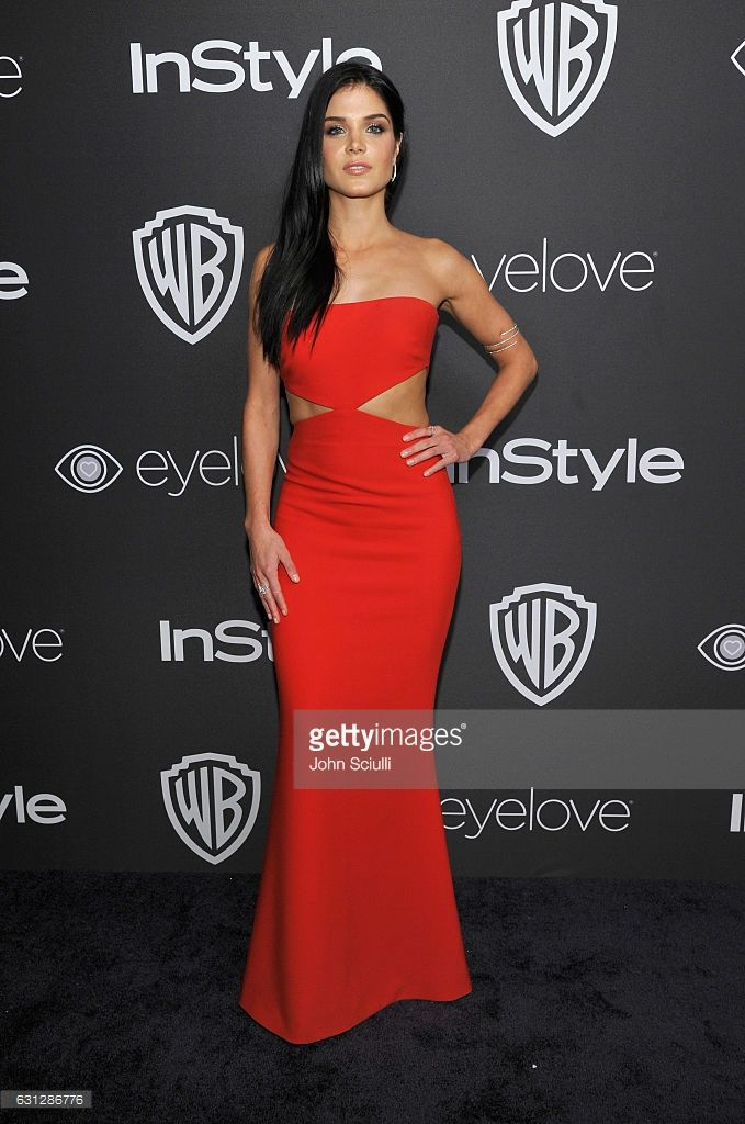 Actress Marie Avgeropoulos attends The 2017 InStyle and Warner Bros. 73rd Annual Golden Globe Awards Post-Party at The Beverly Hilton Hotel on January 8, 2017 in Beverly Hills, California.