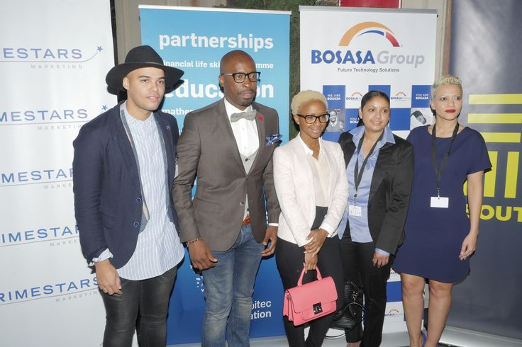BOSASA Group at the #EducateLaunch 2015. We are proud sponsors of the #educate Maths and Science revision program.