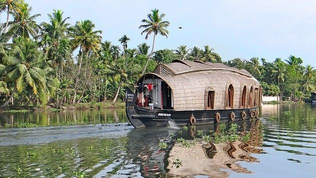 Backwaters is at Alleppey (Alappuzha).Floating down Kerala's scenic backwaters and lagoons on a charming houseboat is one of the most relaxing and picturesque experiences in India. The experience is further enhanced with well stocked chilled beer and the on-board chefs that cook up fresh local Kerala delicacies including the classic Kerala Parotta and Meen Pollichathu. The city of Alappuzha, also known as Alleppey, is one of main hubs for houseboats.