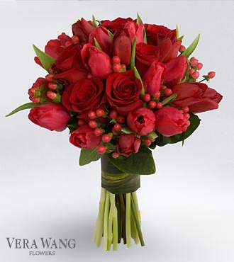 Vera Wang makes beautiful flower arrangements and my favorite night shirts too!