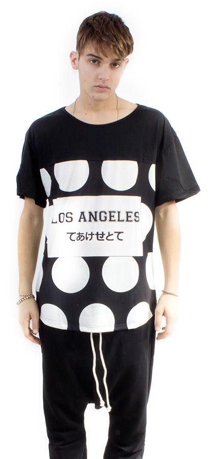 TEE FB MAN     ST. POLKA DOTS #lasaints #snts #dope #streetwear #tshirt #madeinitaly #fashion #tomaslanza #style #losangeles