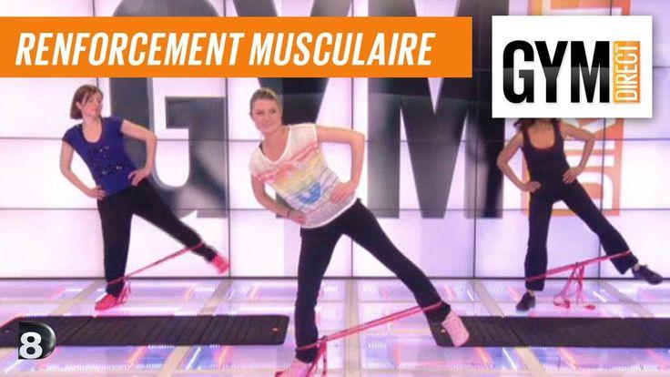 Exercice de musculation avec un élastique - Renfort musculaire 26