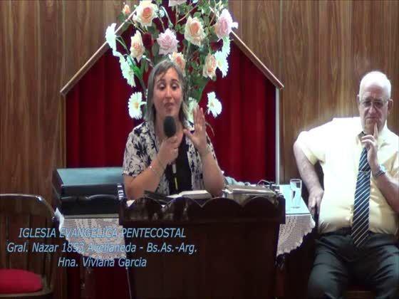 Esperanza de vida eterna con Jesucristo. Hna. Viviana Garcia. 03-12-2013 - nazarlive.dyndns.tv o también en ustream.tv/channel/iglesia-evangelica-pentecostal ( Todos los domingo estamos en vivo...