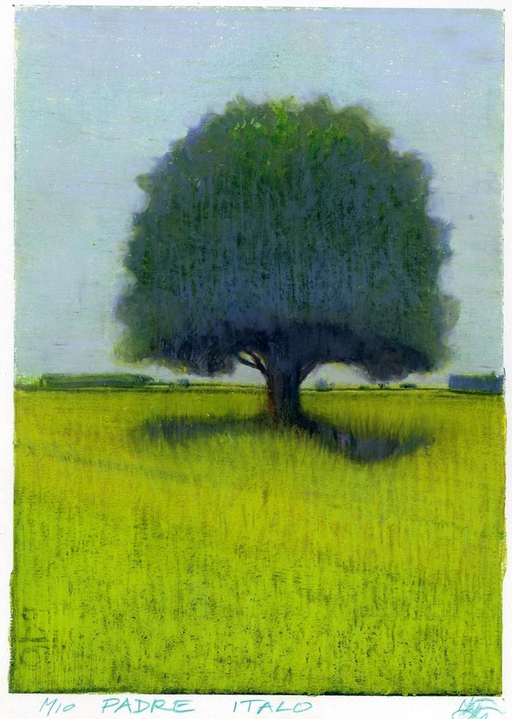 I love trees. Especially simple trees.  Lorenzo Mattotti