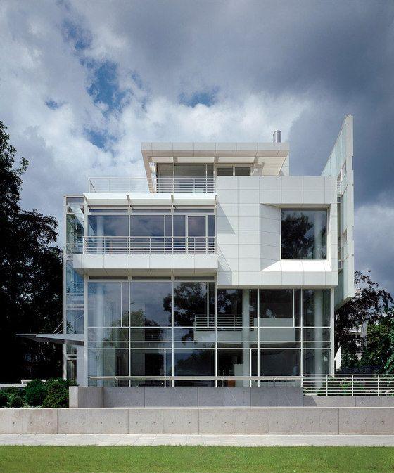 Bürohaus an der Alster, Hamburg, Richard Meier