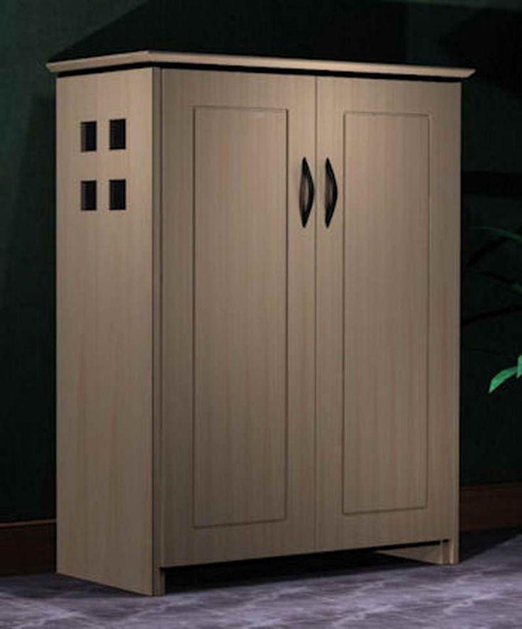 Shoe Storage Cabinet with Doors  Shoe Cabinet in 2019