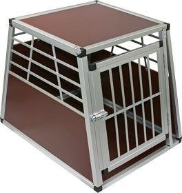 Small pet kennel cage for indoor travel for Design indoor dog crate