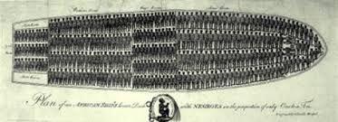 de slven werden op een moeilijke manier vervoert en heel veel overleden er al op het schip