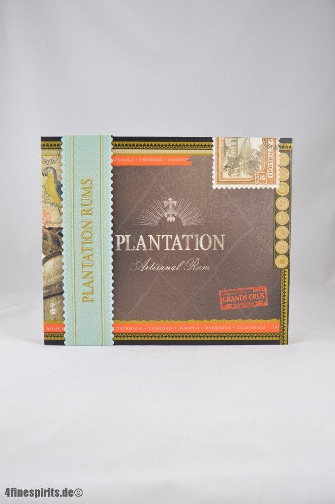 Plantation Rum Zigarren Box mit 6 Rum x 0,1l