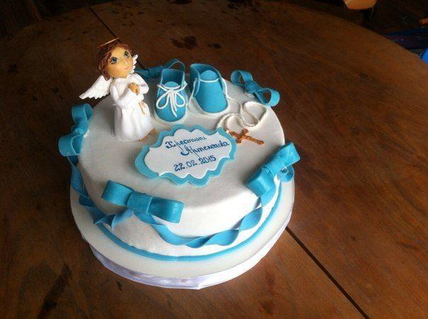 Торт на крестины для мальчика #торт_на_заказ_бровары #крестины #бисквитный_торт #шоколадный_торт