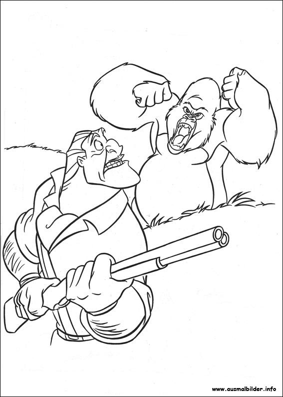 47 best Tarzan Printables images on Pinterest | Coloring pages ...