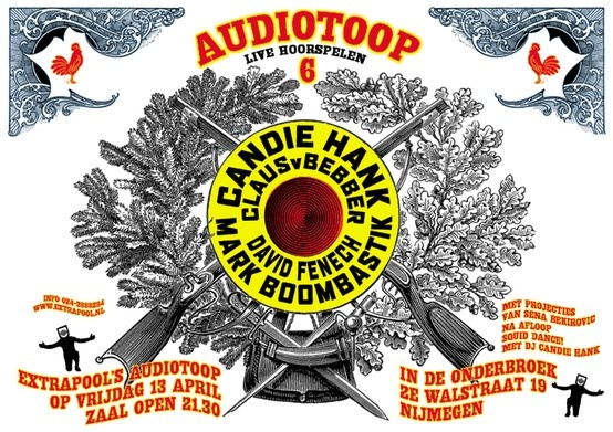 Audiotoop #extrapool #redbol