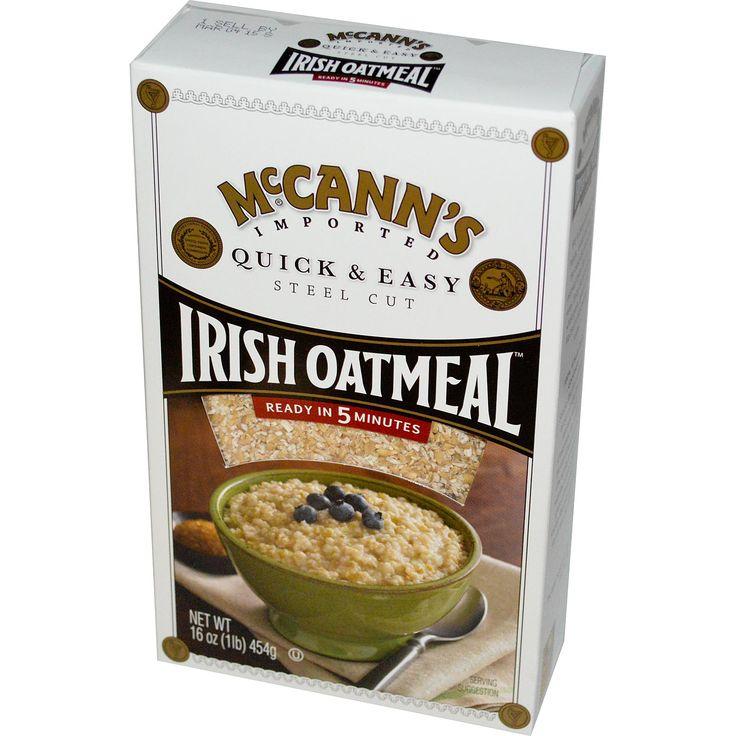 $4.15 Тоже ирландская овсянка, но уже не полноценной варки, и не быстрорастворимая — а как раз идеальный вариант для завтрака, на который почти нет времени — ее нужно варить но всего 5 минут. Даже на воде и без соли получается очень вкусная каша, настоящая ирландская.