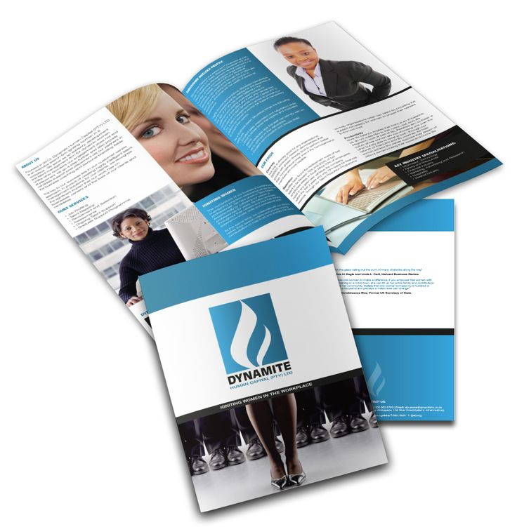 Dynamite Human Capital Brochure/Company Profile Design