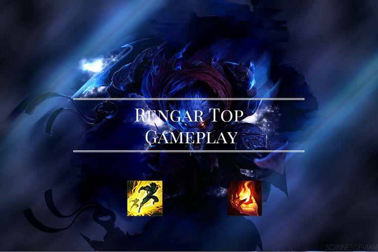 Rengar VS Garen Full Gameplay LOL League of Legends