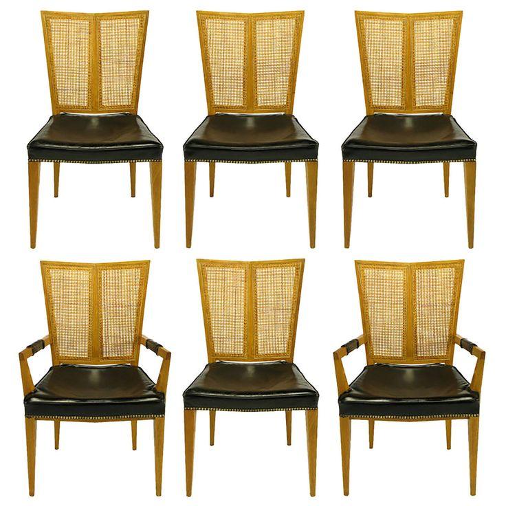 die besten 20+ leather dining room chairs ideen auf pinterest, Esszimmer dekoo