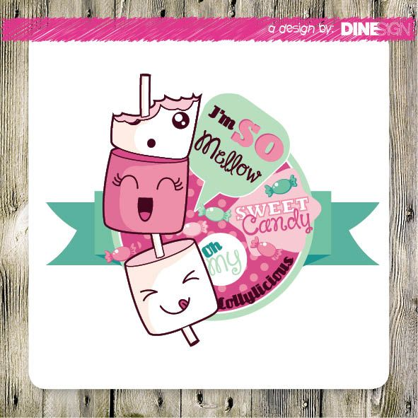 #lollylicious #marshmellow #design www.lollylicius.nl design by: www.dinesign.nl
