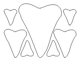 Shark Teeth Pattern