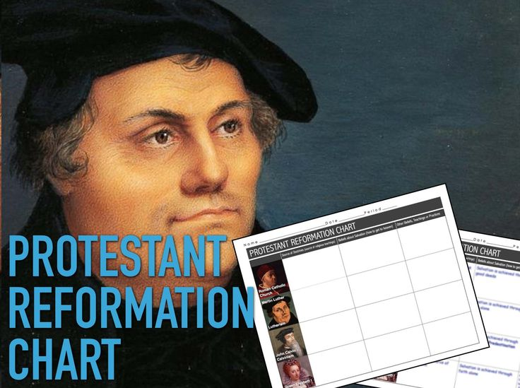 protestant reformation lesson plans