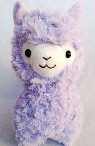 """13""""Japan Amuse Arpakasso Alpacasso Alpaca Plush Doll Purple   eBay"""