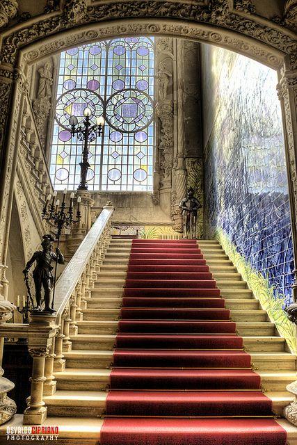 Entryway of Bussaco Hotel #Portugal