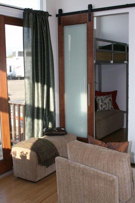 Barn sliding doors or pocket doors make more sense when for Doors for tight spaces