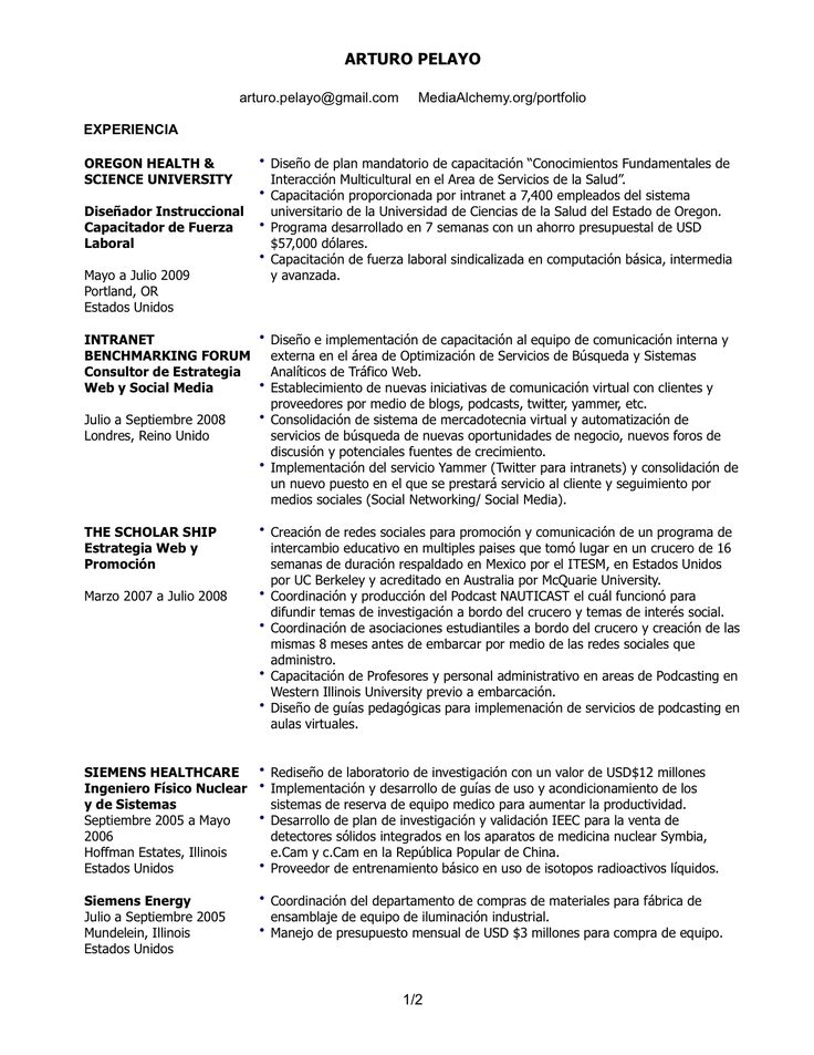 The 25+ best Professional profile resume ideas on Pinterest - professional profile resume examples