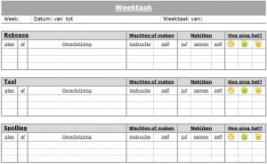 weektaak 001